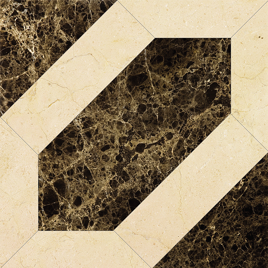 Marmocer Emperador 09 Modern Magic Tile