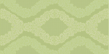Halcon Organza Diamante-1 Decor Pistacho