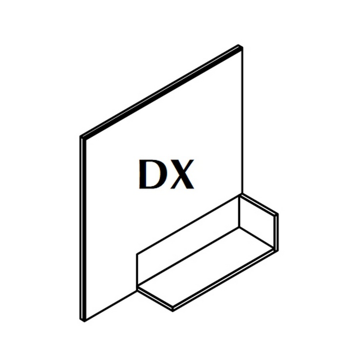 IN Зеркало DX 90x90x18