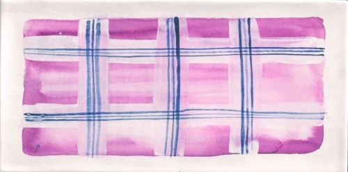 Mainzu Aquarel Deco Pink