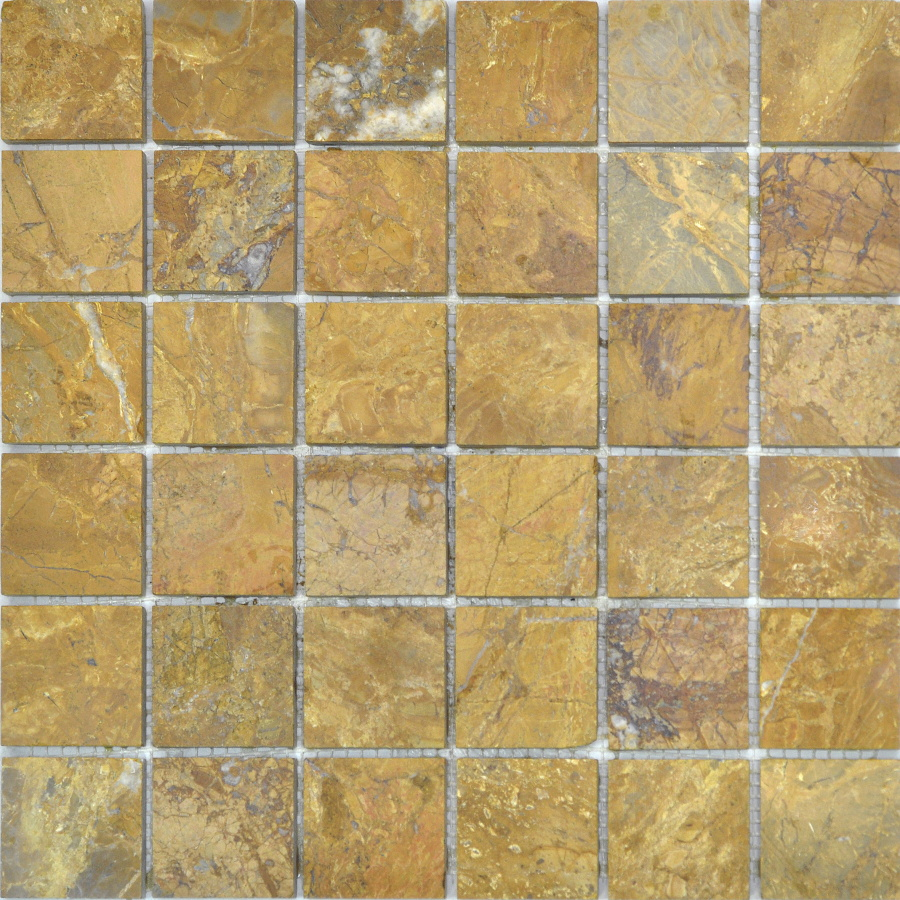 Colori Viva Travertino Mos.Polished Golden Travertin