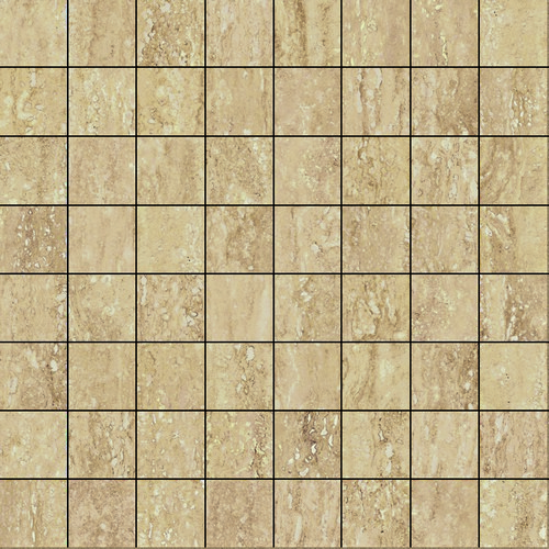 Италон Travertino Romano Mosaico Lux