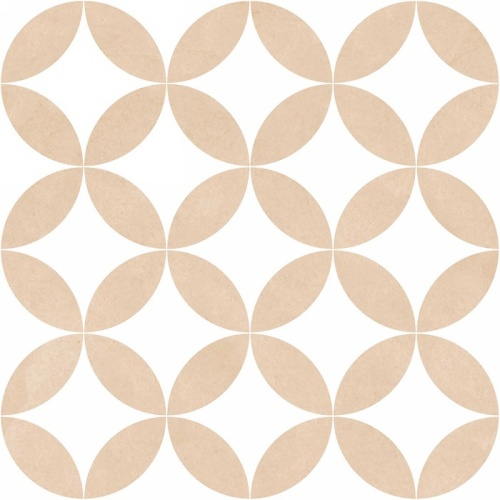 Mayolica District Circles Beige